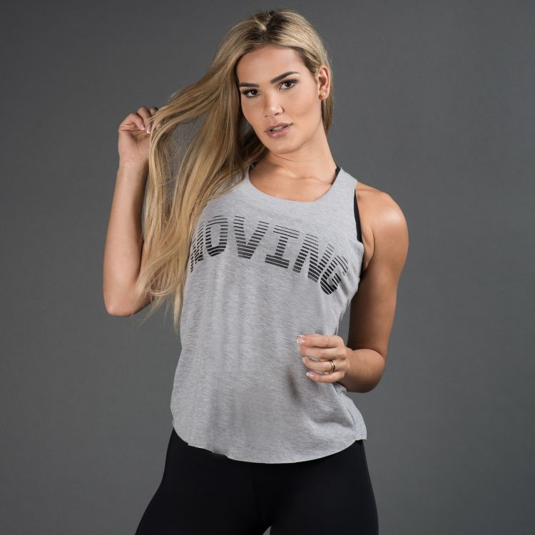 Camiseta Fitness Mescla  Moving