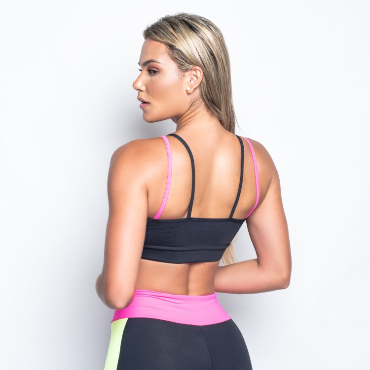 Top Fitness Strappy Pink
