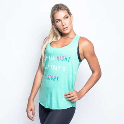 Camiseta Fitness Up All Night