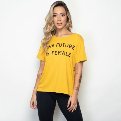 Camisa Fitness The Future is Female