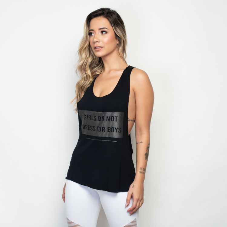 Camiseta Fitness Girls Do Not Dress For Boys