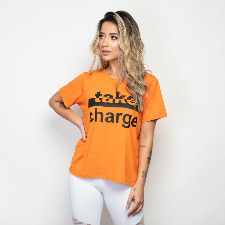 Camiseta Fitness Take Charge
