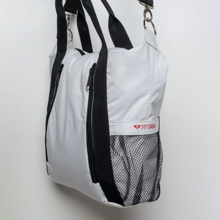 Bolsa Fitness White and Black