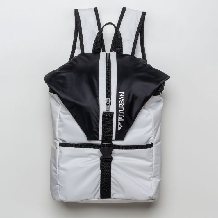 Mochila Fitness Black and White