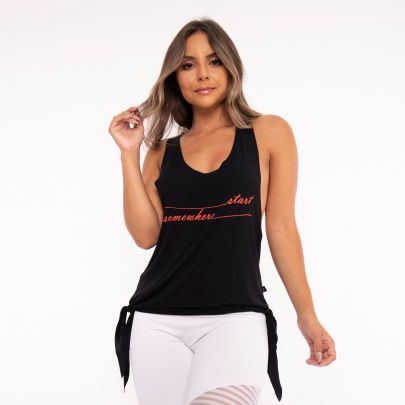 Camiseta Fitness Laçinho Start