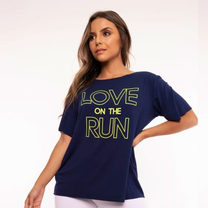 Camisa Fitness Love On The Run