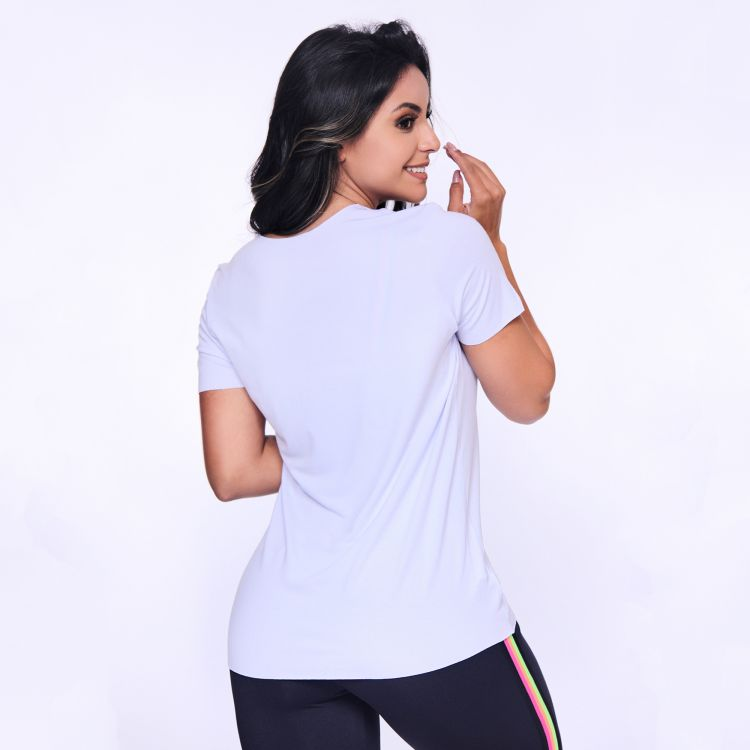 Camisa Fitness Branca Co Explorer.